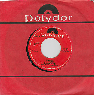"Arthur's Mother-On the dole/Butterfly 7"" Single Polydor 1971"