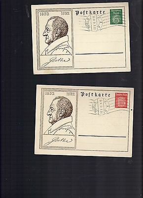 Germany lot of 10 covers and postal carsd pre 1945