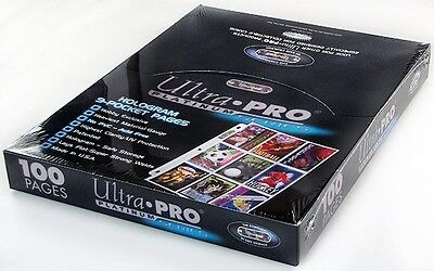 Ultra Pro 9-Pocket Platinum Series Pages Box (100 pages) - CollectorsAvenueCom