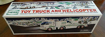 2006 Hess Toy Truck and Helicopter Brand New in Box