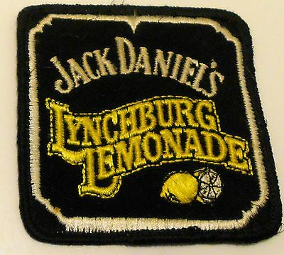 """Jack Daniels Patch Embroidered 3 inches  Vintage  """"Lynchburg Lemonade"""""""