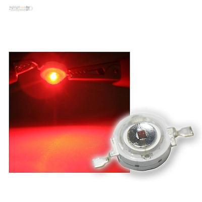 50 x High-Power LED 1 Watt Rot, 1W red High Power SMD LEDs, 350mA 1 W red rouge