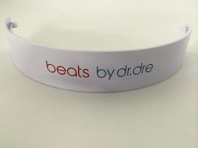 BEATS BY DRE WIRELESS bluetooth REPLACEMENT HEADBAND TOP ARCH BAND-White