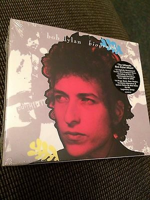 New Sealed Bob Dylan Biograph 3-Cd Rare Version With Errors