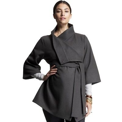 ISABELLA OLIVER Belted Wrap Jacket/Coat/Cape UK 8-10 / Label 1-2 £125 Maternity