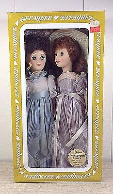 "Effanbee Doll Set Grande Dames Collection Lot of 2 Vintage 13"" Dolls"