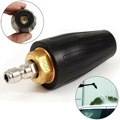 High Pressure Washer Cleaner Spray Rotating Turbo Nozzle Tip 2.5/3.0/3.5/4.0GPM