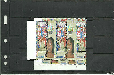 stamps,CORNER BLOCK OF 4,PERFORATION HEAVY MOVED,VOLLEYBALL,OLYMPICS,LONDON 2012