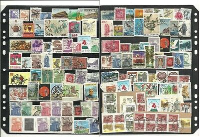 stamps, asia, china great lot, used as scan,#B