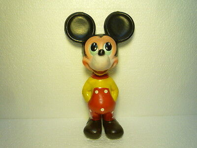 Vintage Figure - Mickey Mouse - 1968 - Walt  Disney  Extremly Rare  Red Version