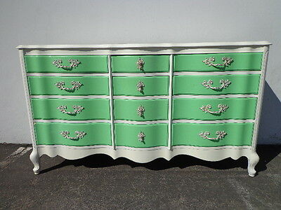 French Provincial Dresser Chest of Drawers Changing Table Shabby Chic Vintage