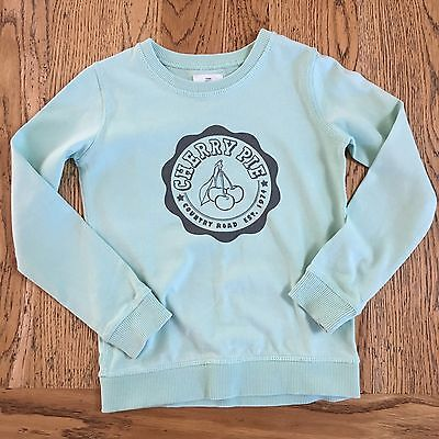 Country Road Kids Girls Light Green Jumper Sweater Size 6