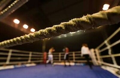 boxing ring ropes 1x64 ft All size ropes available 48 56 64 72 80 ft & canvas