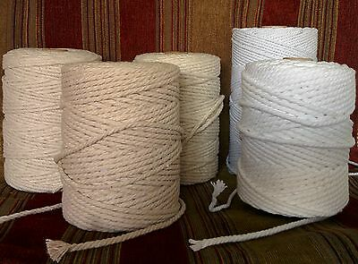 Cotton Piping Cord / Macrame / Draw String