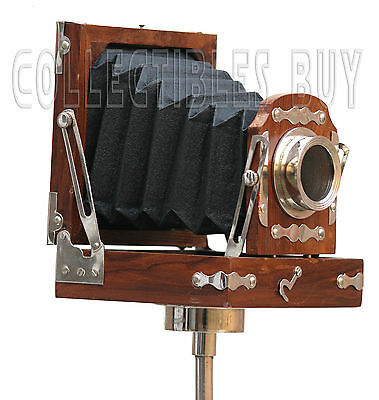 Nautical Industrial Wooden Camera Marine Photography Film Camera Home Decor