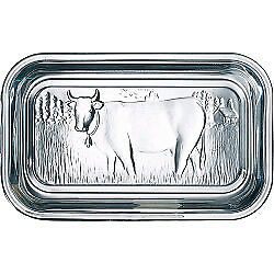 Luminarc Cow Butter Dish with Lid Brand New Fast Postage