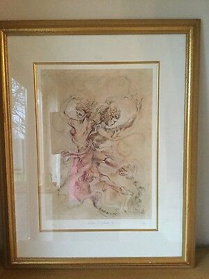 JOY KIRTON SMITH 'Water Dance II' limited edition signed framed print