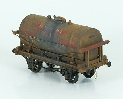 Dapol Em/4mm 14ton Owners Tank Wagon 'Cleveland Discol'