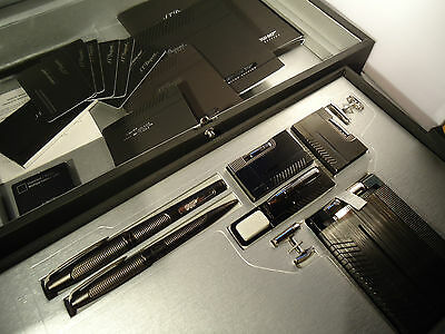 S.T. Dupont 7 Piece Lighter & Pen Box Set - 007 - Limited Edition - Feuerzeug