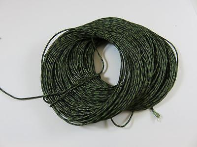 25m 45lb LEAD FREE SINKING CORE LEADER WEED GREEN FOR CARP FISHING FREE NEEDLE