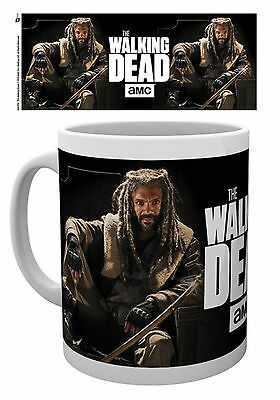 Official The Walking Dead AMC Mug King Ezekial The Kingdom TV Zombie Gift