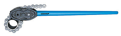 """Gedore 4535440 Chain pipe wrench, American pattern 1/4-3"""""""
