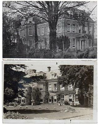 2  Early  HOUGHTON HALL Dunstable   Bedford  Smy Postcards