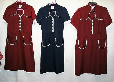 Job Lot of 3 x 1940s Style Day Dresses for Stage/Theatre/Fancy Dress etc