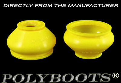 2x Polyboots Ball Joint Dust Boots 17x33x26 mm Polyurethane Replacement Boots