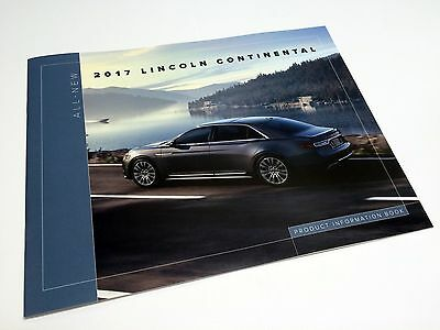 2017 Lincoln Continental Product Information Brochure
