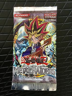 YUGIOH ! Booster Yu-Gi-Oh ULTRA RARE INTROUVABLE Metal Raiders MRD-F EDITION 1 !