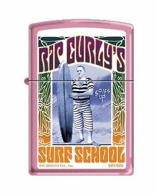 Zippo CI001879238 Limited 3 Stooges Rip Curly Pink Finish Lighter