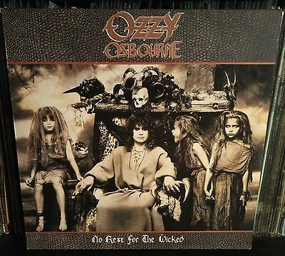 Ozzy Osbourne-No Rest For The Wicked Lp Holland 1988 Epic ‎– 462581 1 NM/EX