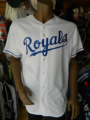 Majestic American Authentic Kansas City Royals Baseball Home Jersey