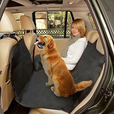 AUTO CARE Rear Car Seat Protector/Boot Liner - Washable Dog/Pet Cover