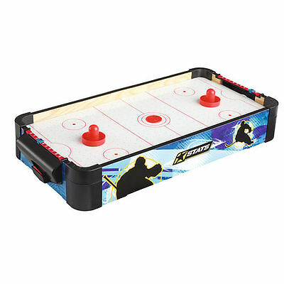 Mini Table Top Air Hockey Puck Pusher Set Family Children Party Game