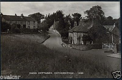 Cotherstone.  Hagg Cottages. Co Durham. Old Postcard.