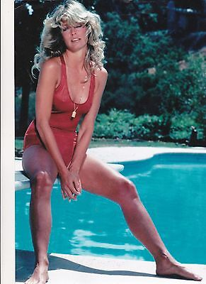 Farrah Fawcett Rare 8X10 Charlies Angels Photo Mm0023