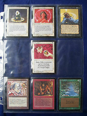 7 x Beta Magic The Gathering CCG cards: MTG Beta - Issued 15.10.1993     002650