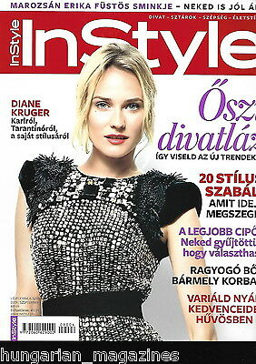 InStyle Ungarn / Hungary Hungarian Magazine N 2009/09 - Diane Kruger - Cover