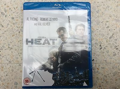 Blu-Ray Heat ( 2 Disc Director`s Edition ) Brand  New Sealed Genuine Uk Stock