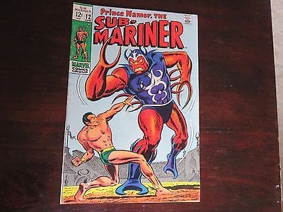 Sub-Mariner #12 (Apr 1969, Marvel) FN 6.0
