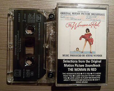 Casete. Stevie Wonder. THE WOMAN IN RED