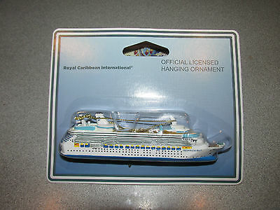 NWT~Royal Caribbean Freedom  Of The Seas Hanging Ornament~ Sealed Package~