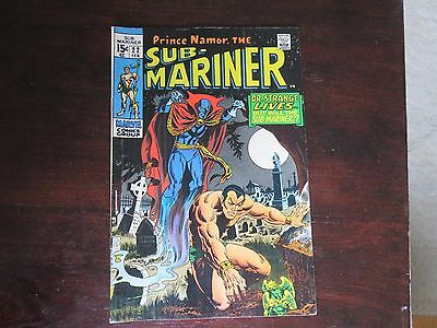 Sub-Mariner #22 (Feb 1970, Marvel) FN 6.0-6.5