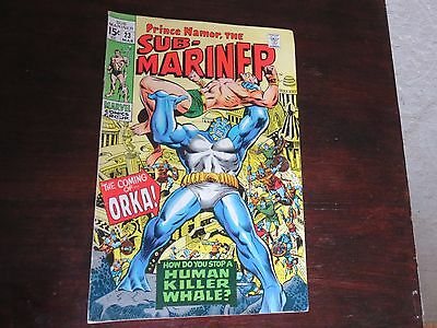 Sub-Mariner #23 (Mar 1970, Marvel) FN 6.0-6.5