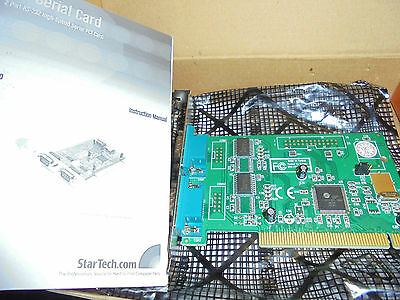 StarTech.com PCI2S950 - 2 PORT PCI RS232 SERIAL ADAPTER - CARD WITH 16950 BOXED