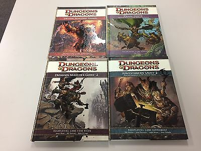 Dungeons & Dragons Lot Of 4 New Books Roleplaying Annuals Guides