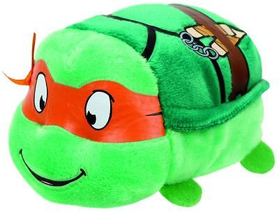 Michelangelo Turtles Licensed Teeny Ty-6cm Mini TY Plush Teddy - New Soft Toy