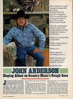 John Anderson 4 Page Clipping